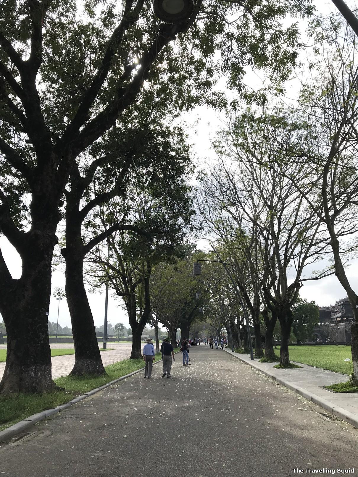 imperial city hue garden