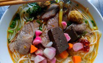 Bún Bò Huế vietnam spicy noodle