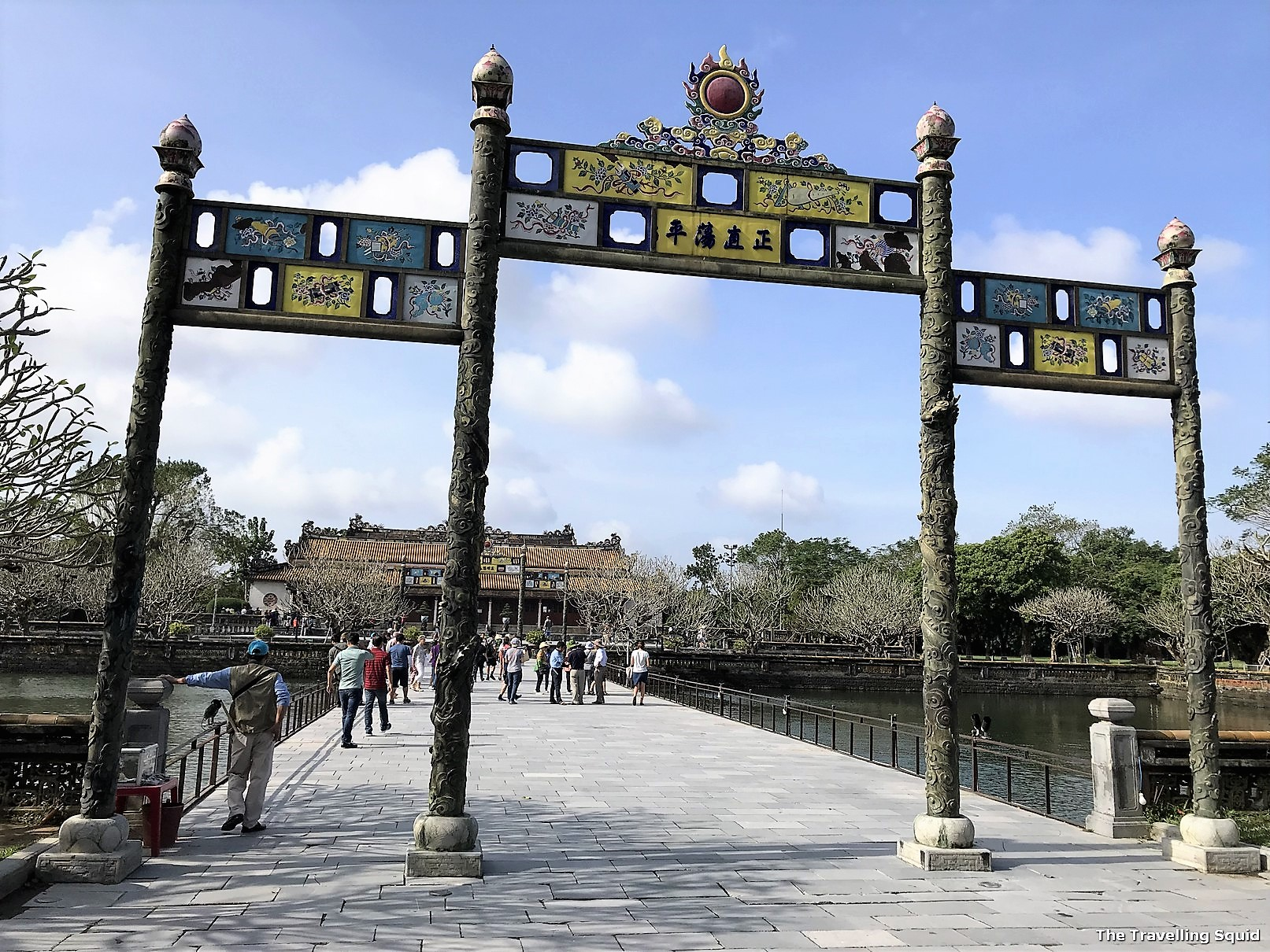 imperial city hue citadel entrance