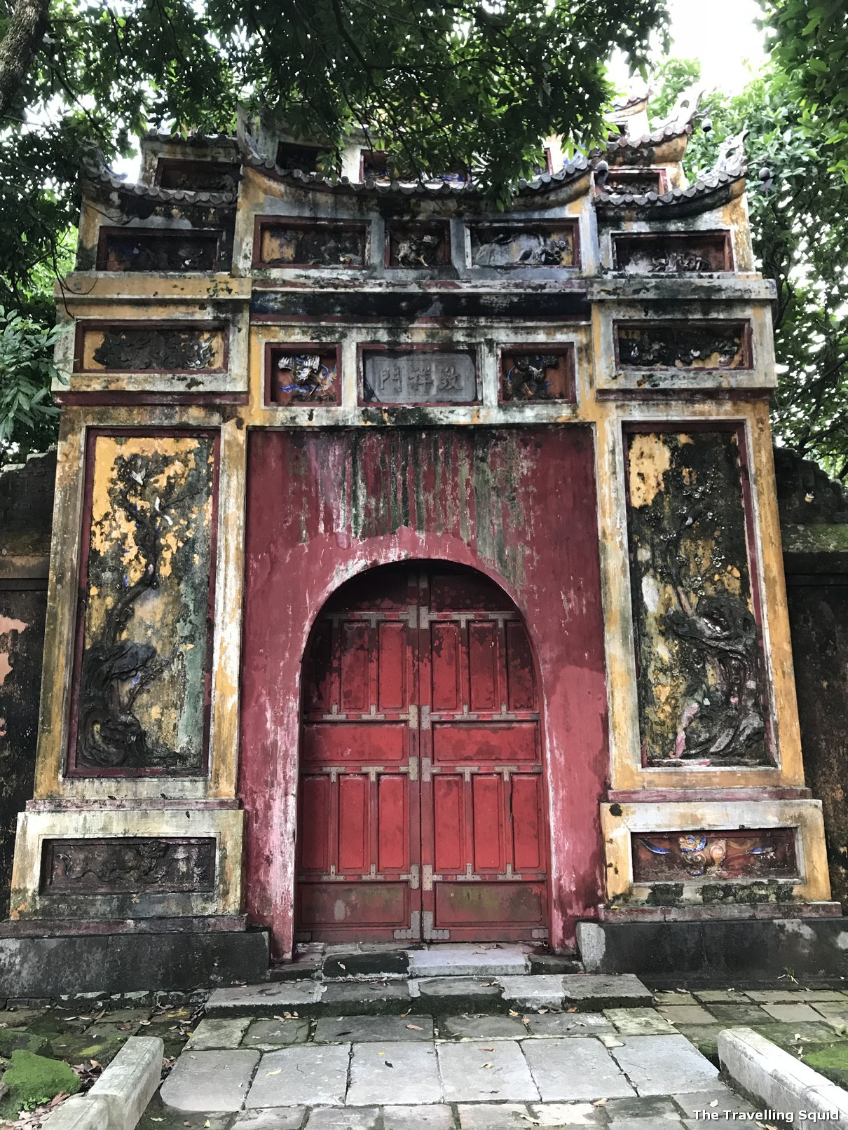 imperial city hue citadel door
