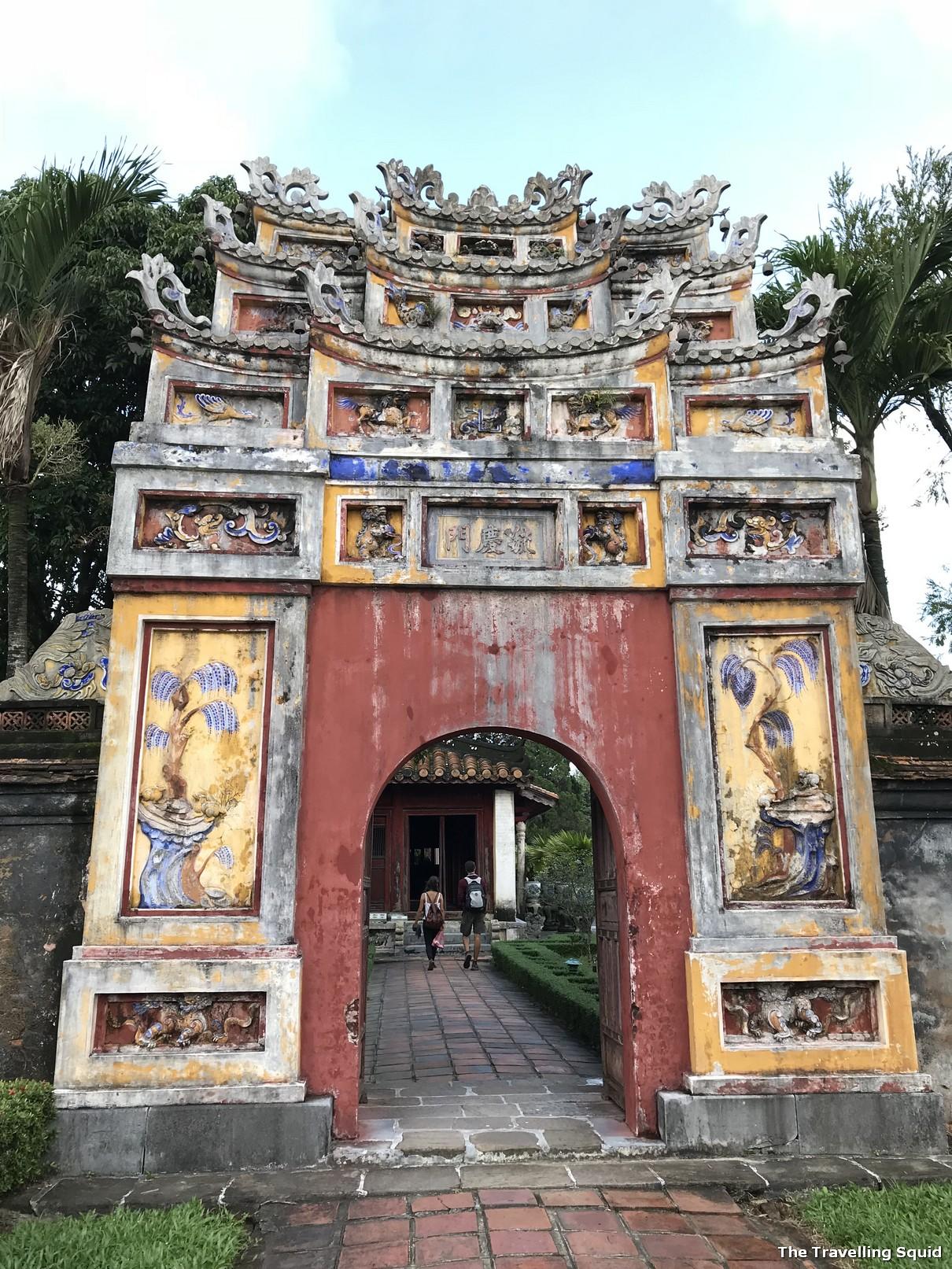 imperial city hue citadel facade