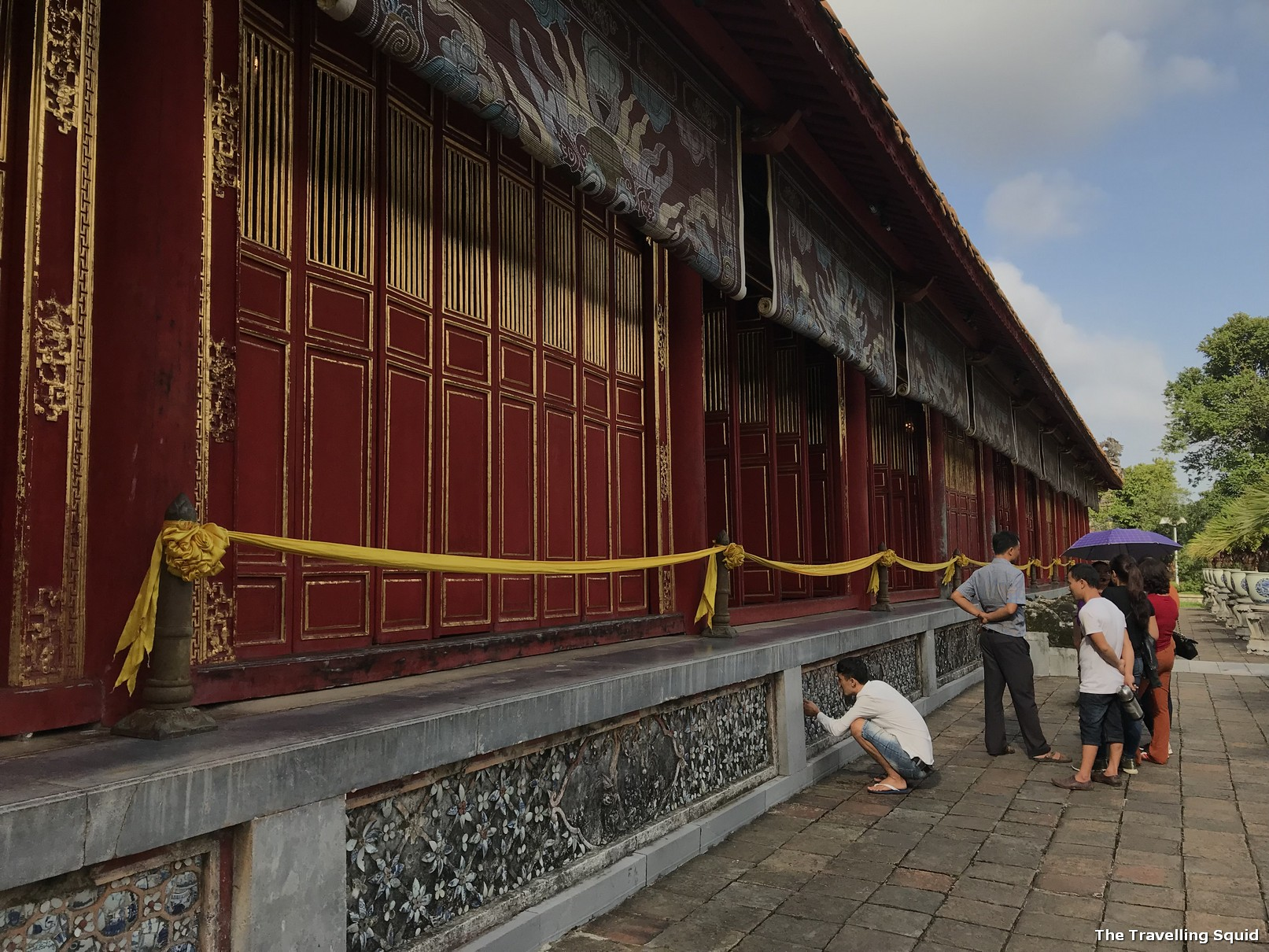 imperial city hue citadel temple