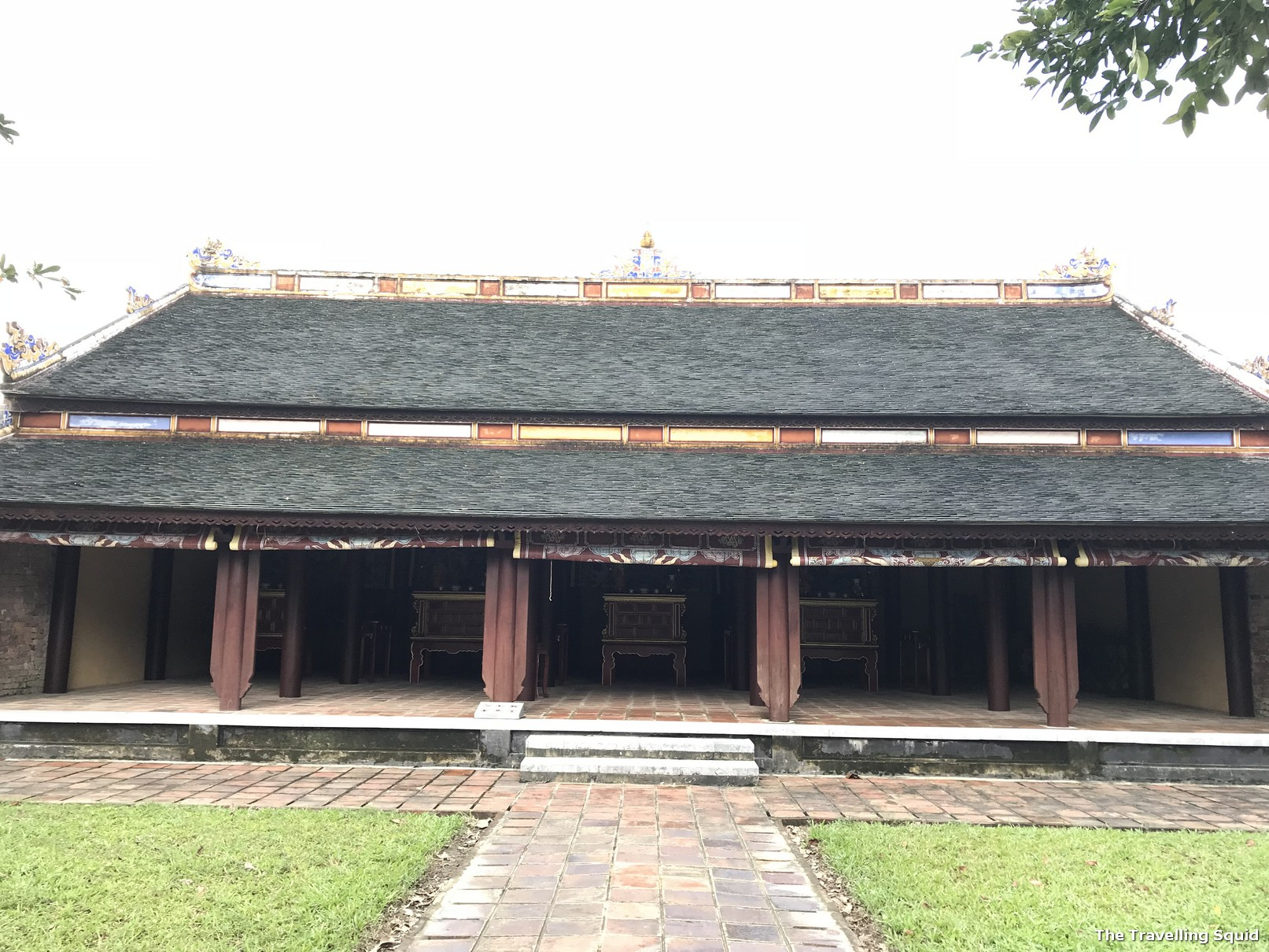 imperial city hue citadel prayer hall