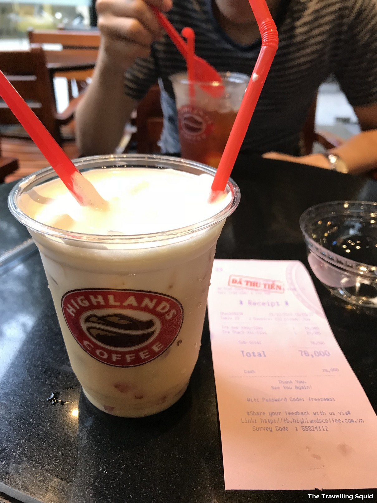 highland coffee imperial city hue