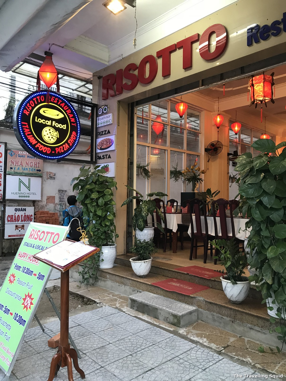 risotto restaurant hue vietnam