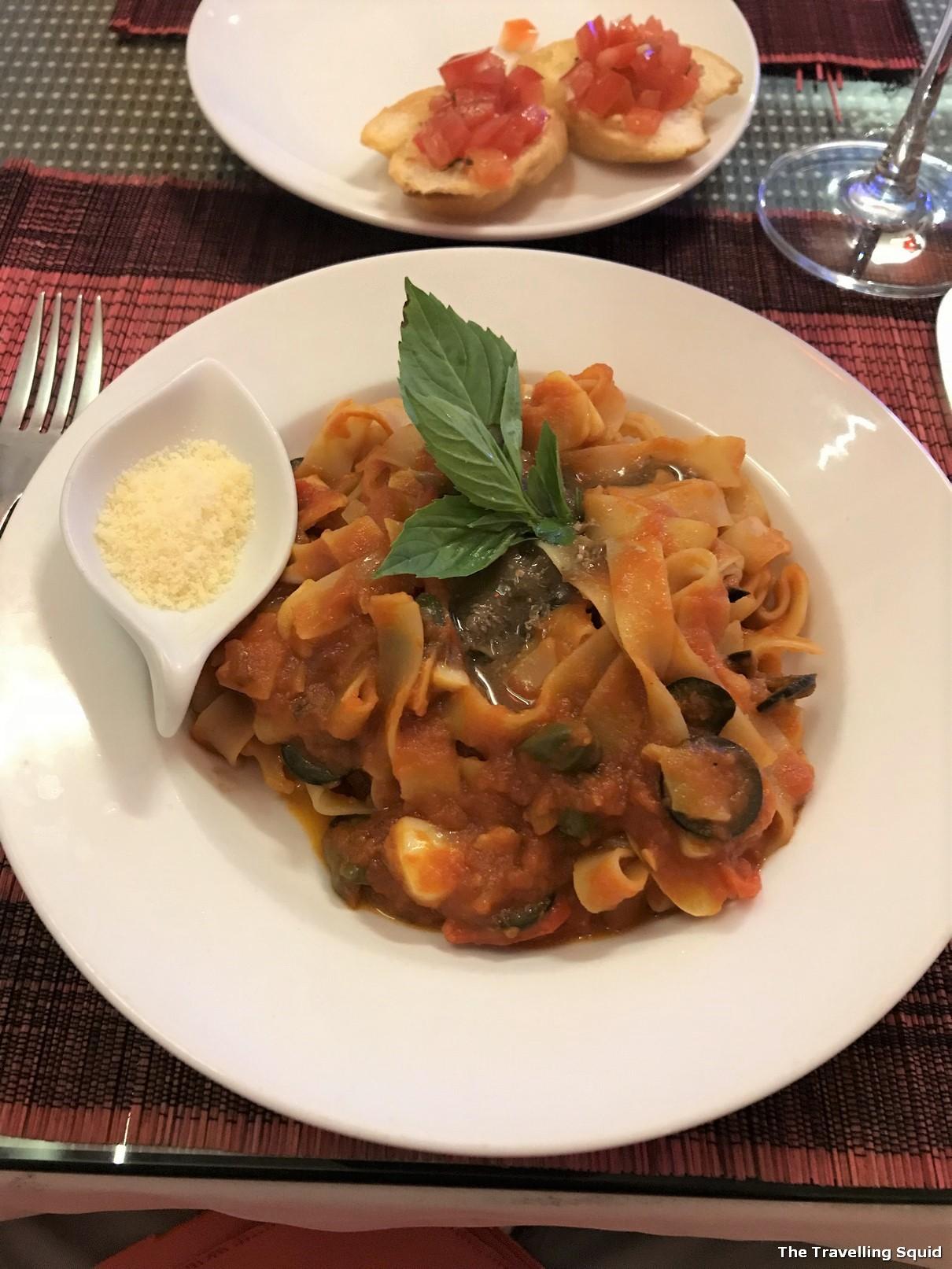 risotto restaurant hue vietnam tomato pasta