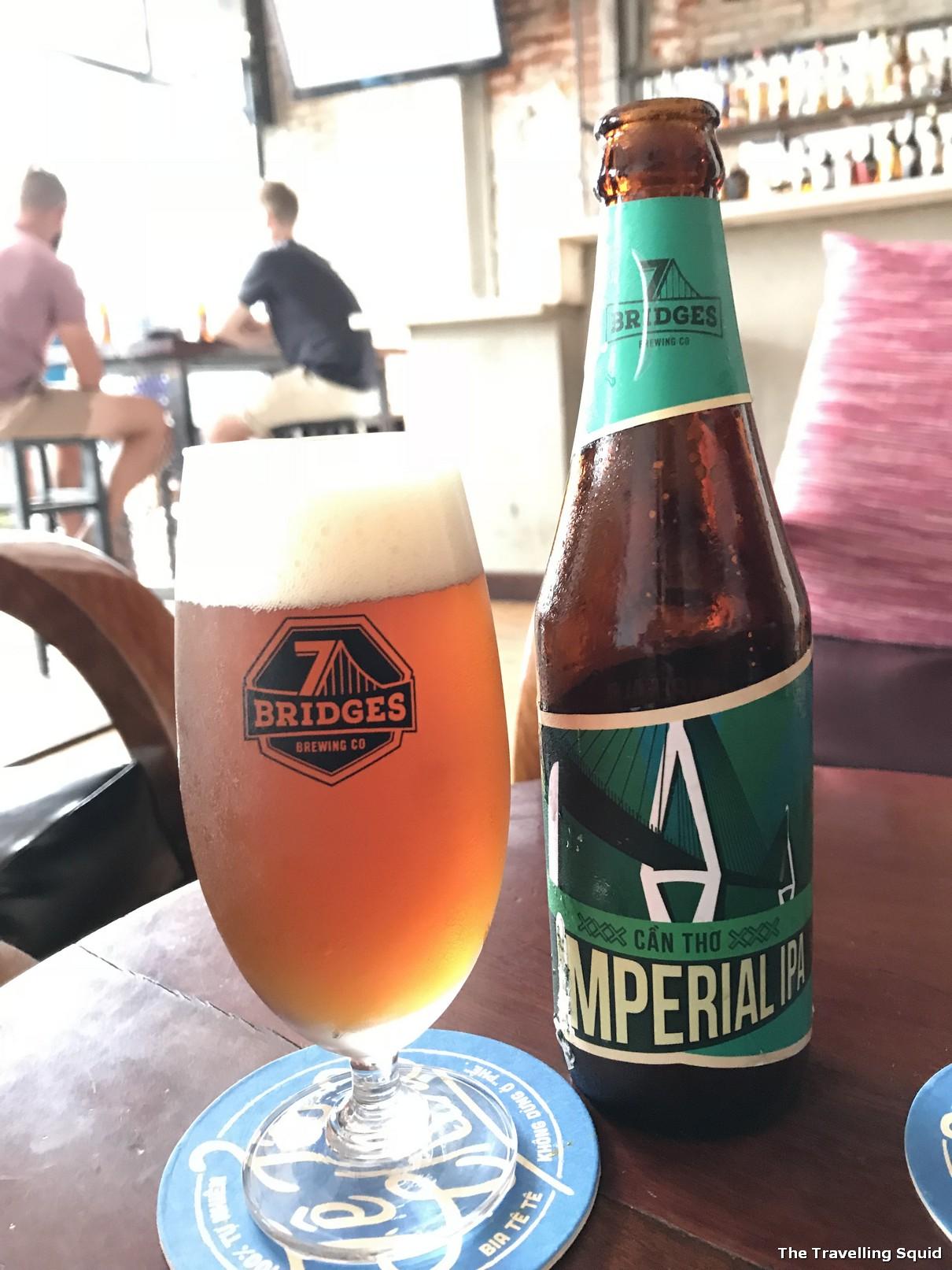 waterfront bar danang vietnamese beer