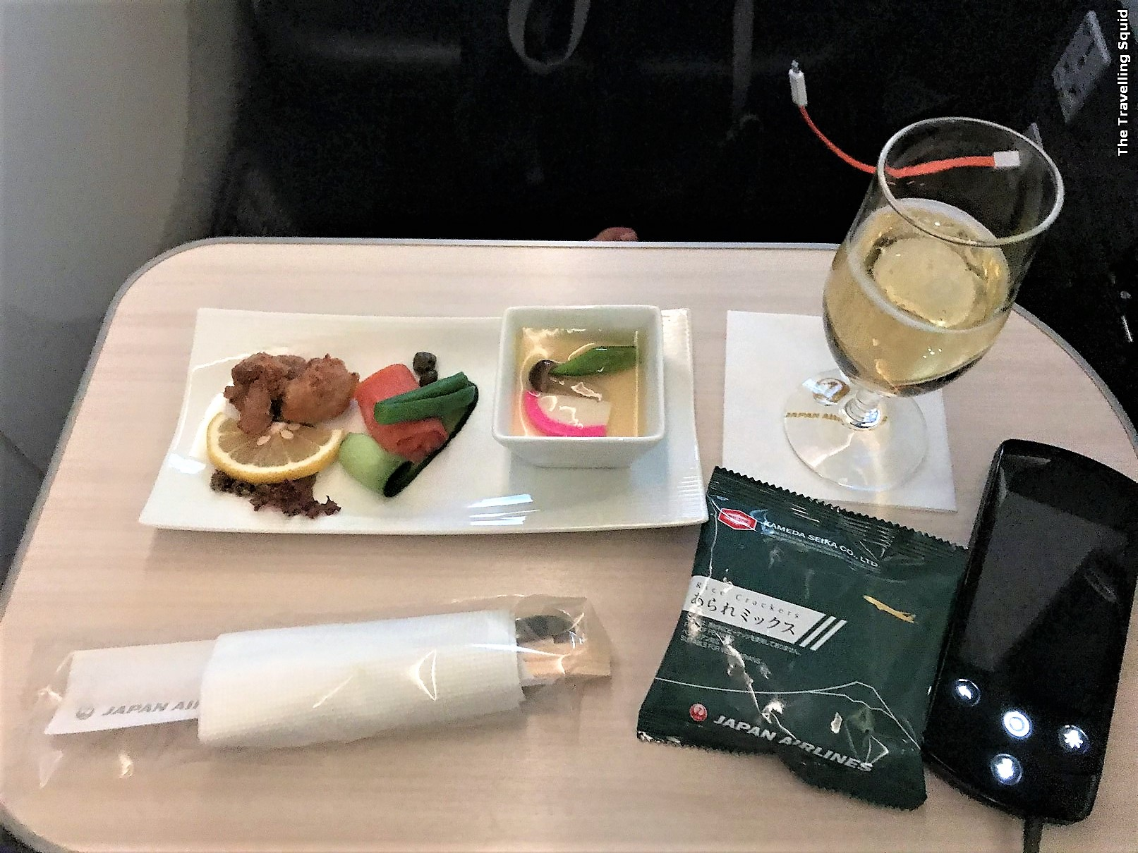 japan airlines business class jakarta narita