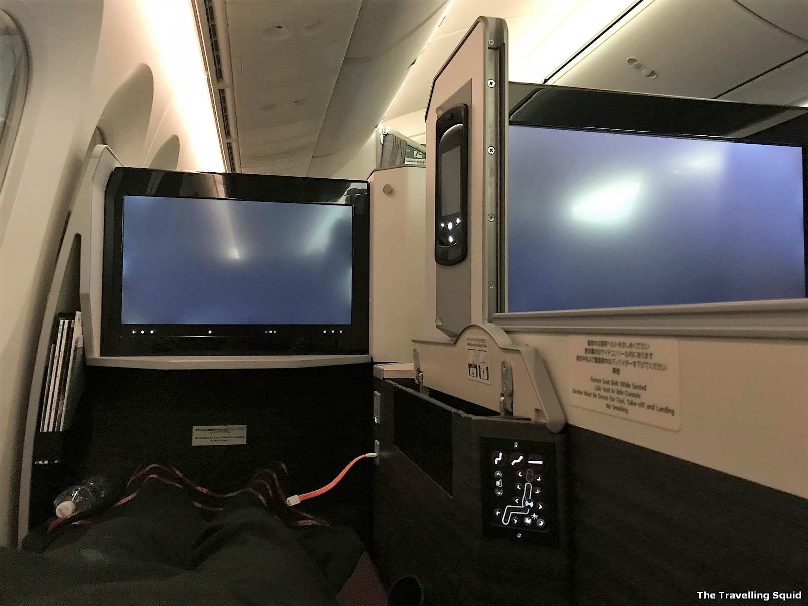 Japan Airlines Business Class flight from Jakarta to Japan