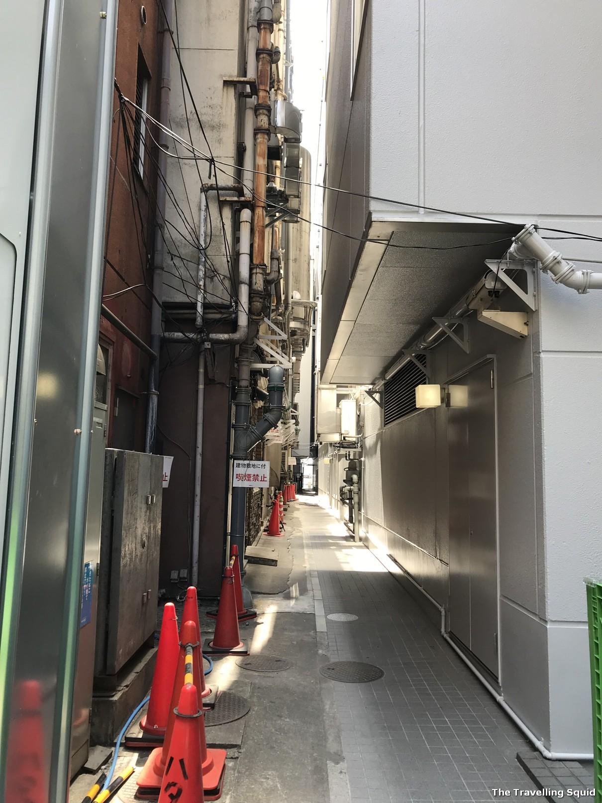 sea bream ramen at Menya Maishi in Ginza Tokyo back alley