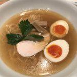 Review of sea bream ramen at Menya Maishi in Ginza Tokyo