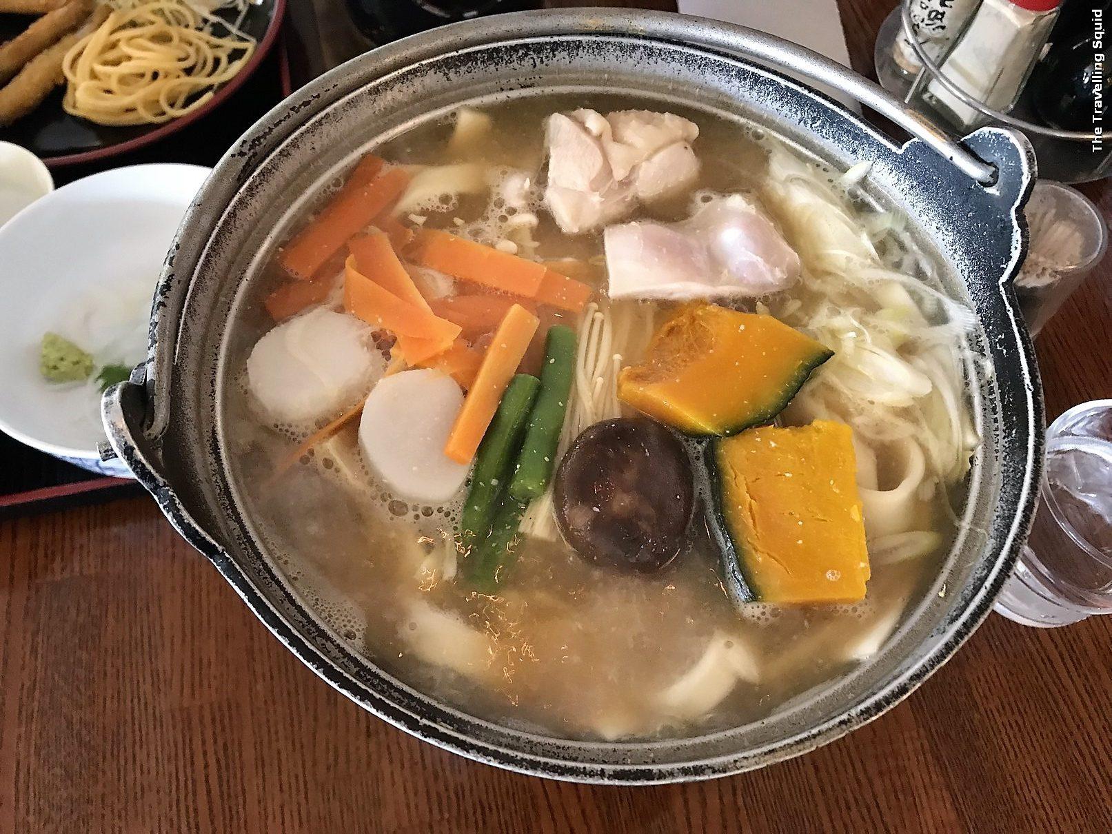 restaurant lakeside kawaguchiko japan