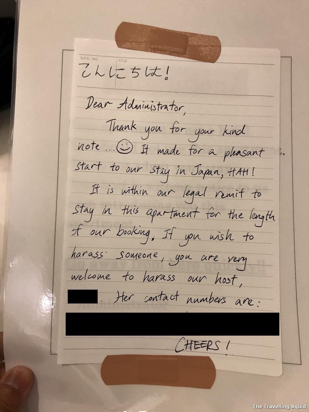 airbnb tokyo shinjuku building management