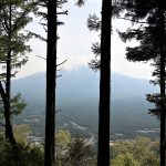 Our 10 minute hike to the summit of Mount Tenjo to view Mount Fuji (Part 2)