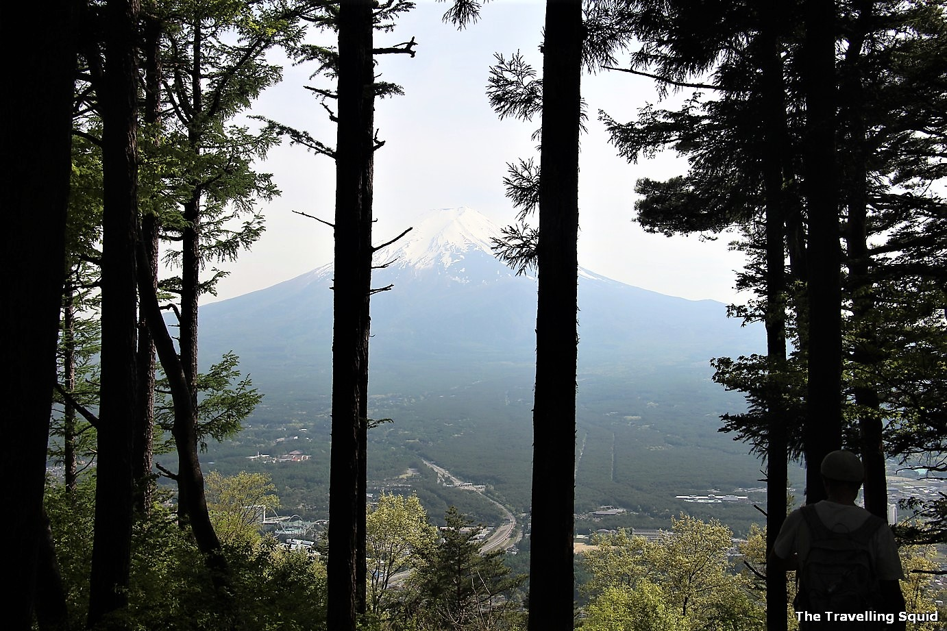 hike to the summit of Mount Tenjo to view Mount Fuji