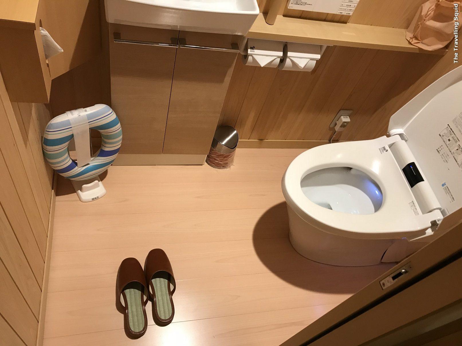 Hotel Konanso Fuji Kawaguchiko ryokan toilet toilet