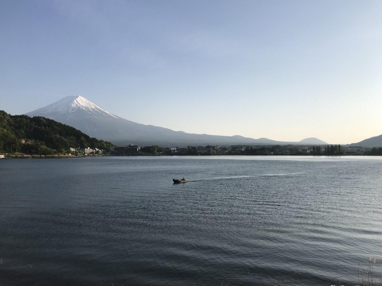 Lake Kawaguchiko mount fuji lake view