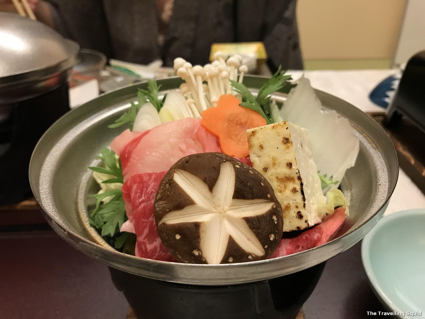 kaiseki dinner hotel konanso kawaguchiko