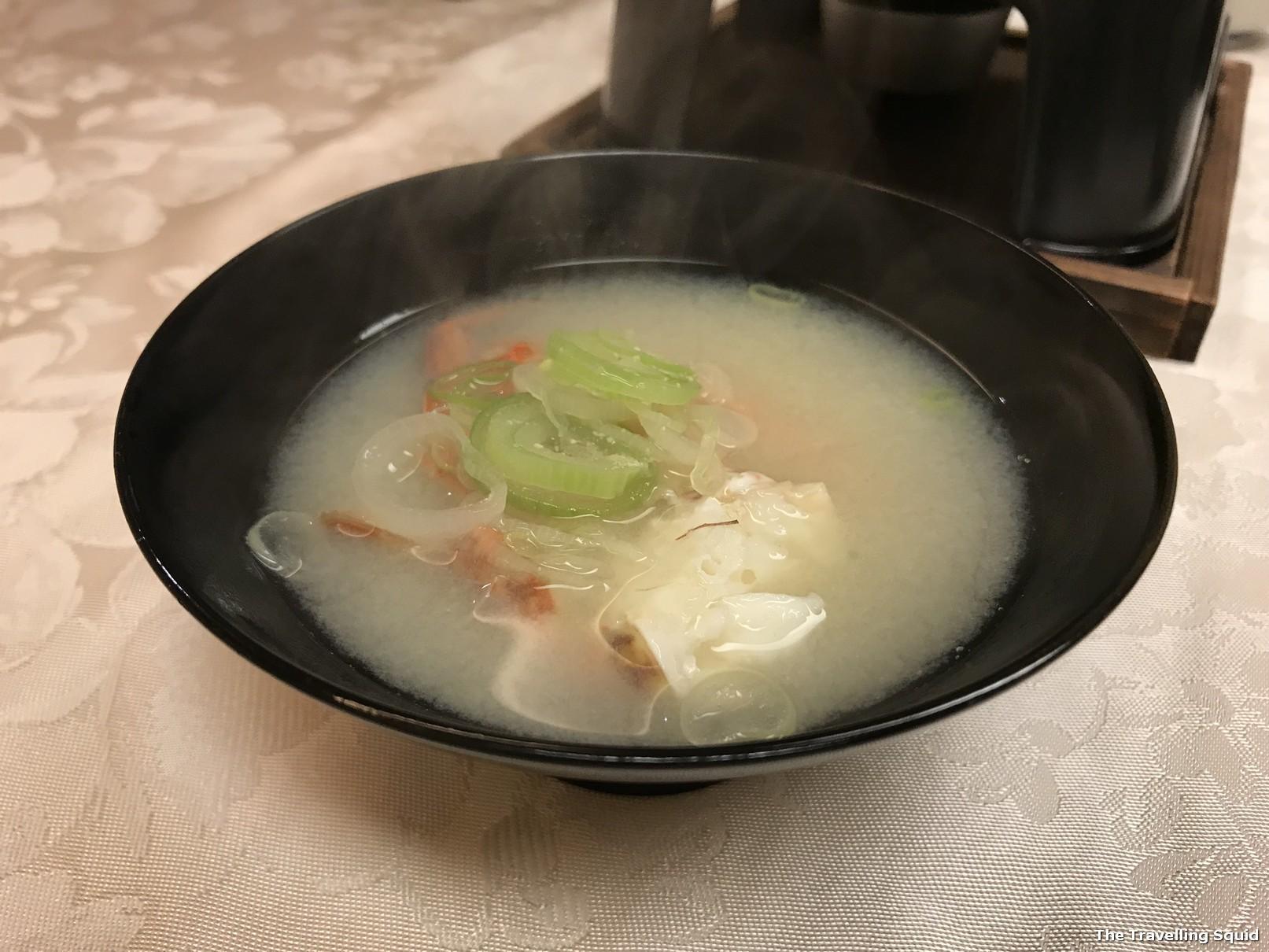 soup kaiseki dinner hotel konanso kawaguchiko