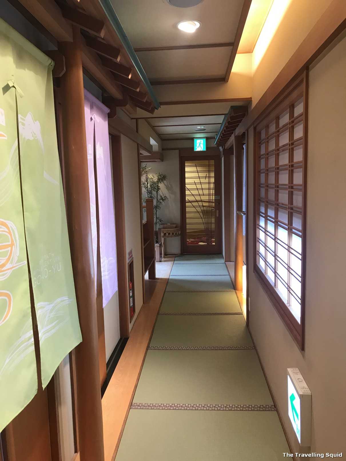 private Onsen at Hotel Konanso in Kawaguchiko