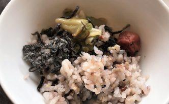 breakfast hotel konansu kawaguchiko rice pickles