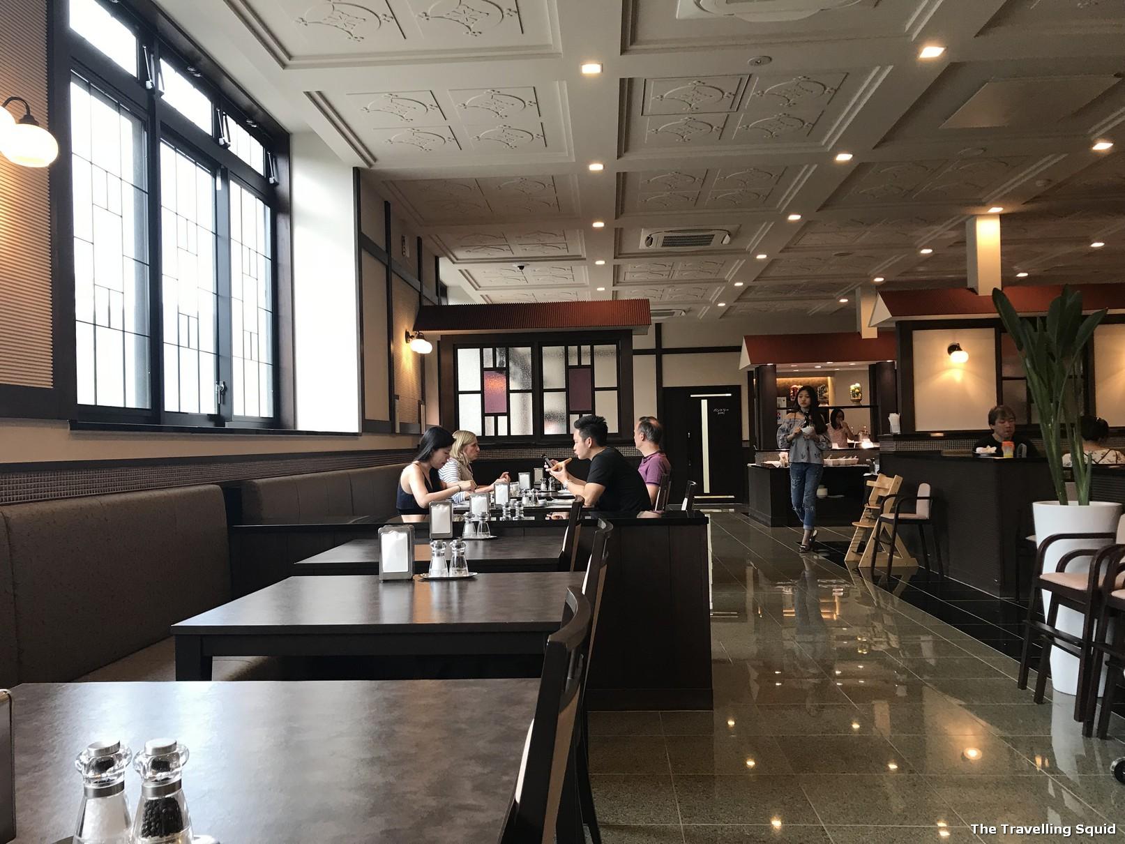 Breakfast at Hotel Konanso in Kawaguchiko