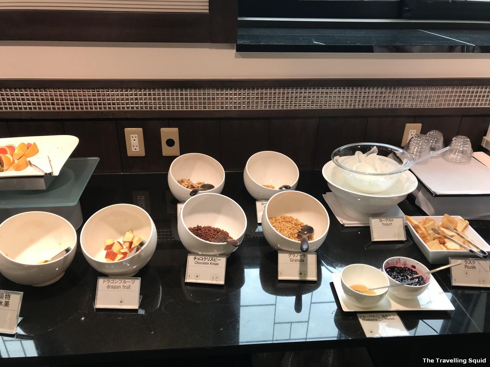 breakfast hotel konansu kawaguchiko cereal