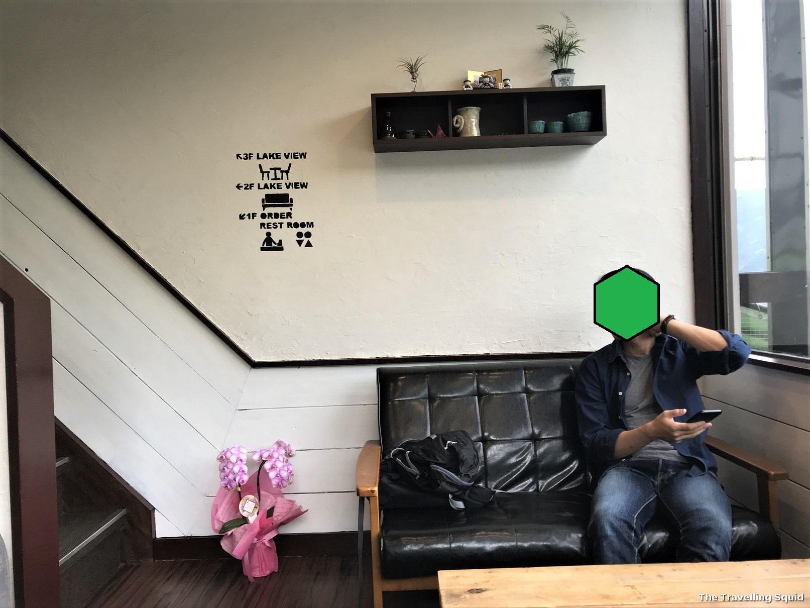 Lake Side Cafe Ku in Kawaguchiko