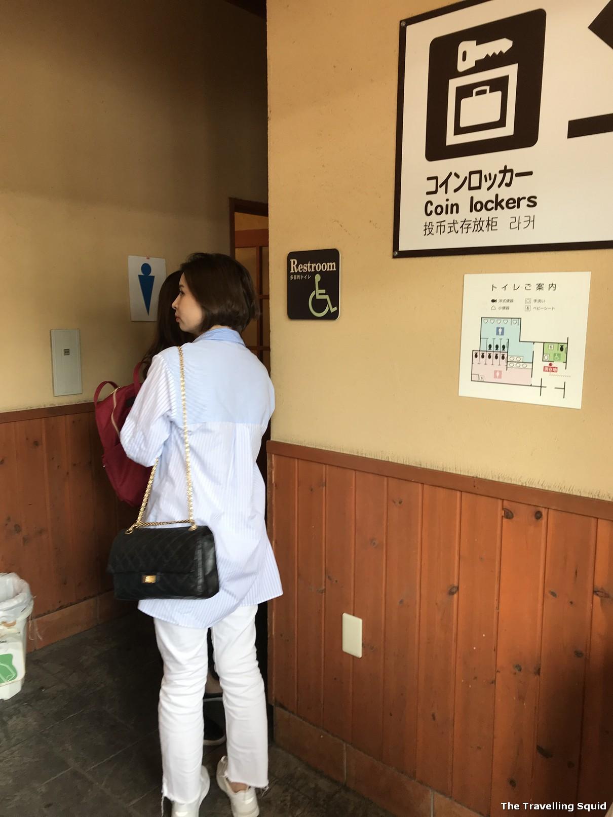 kawaguchiko bus station toilet