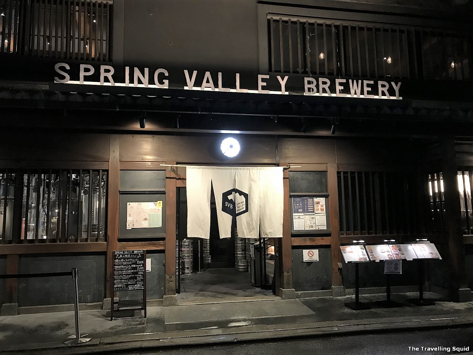 Spring Valley Brewery in Kyoto