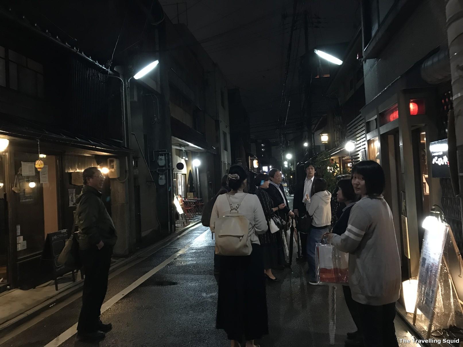 good izakaya in Kyoto visit Beppinya