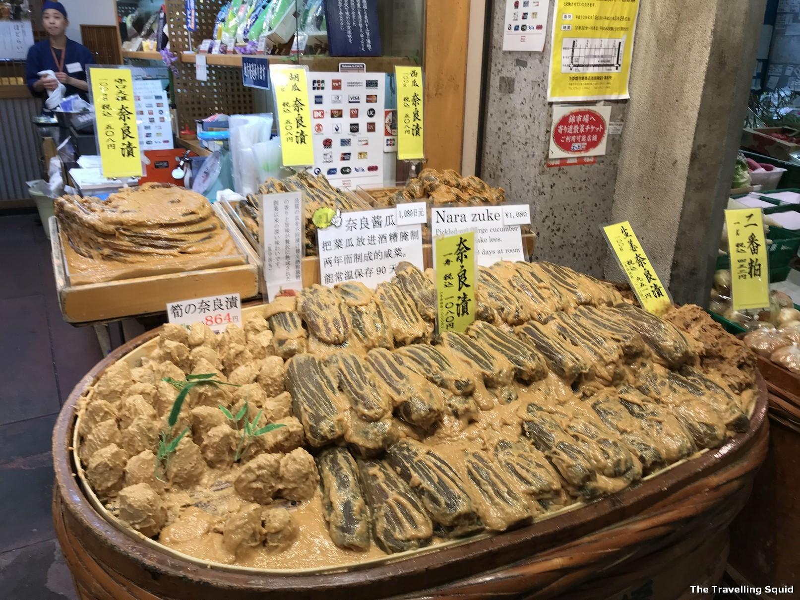 miso radish nishiki market