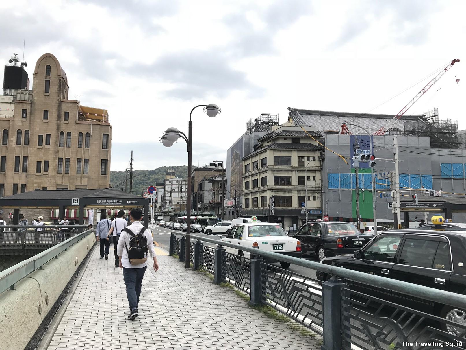walk around old and new Kyoto