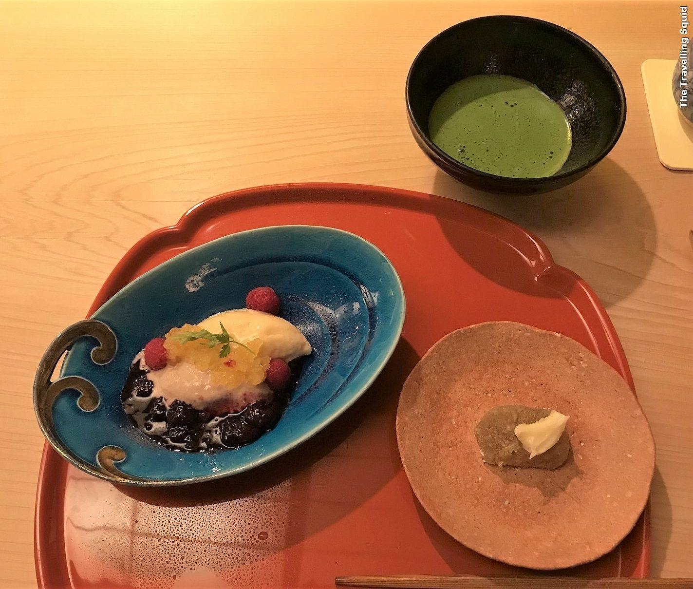 dessert gion suetomo kyoto kaiseki lunch