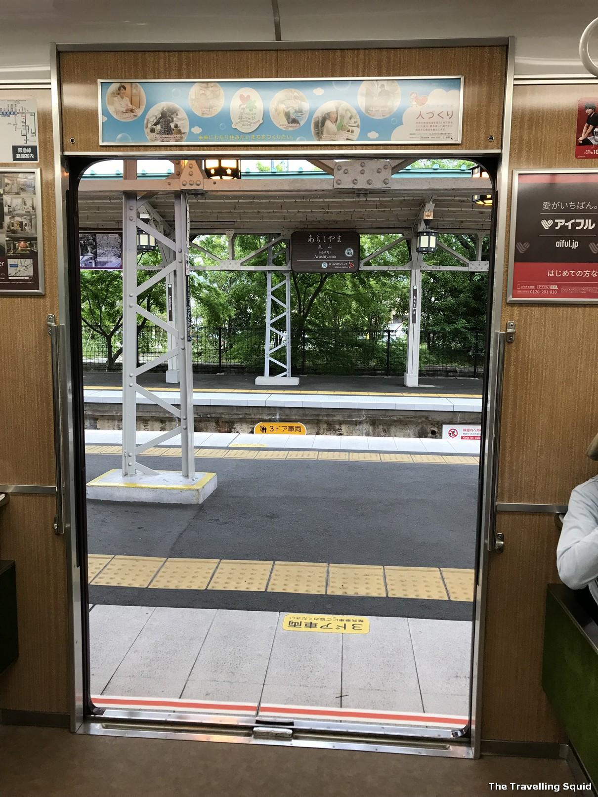 arashiyama station hankyu line