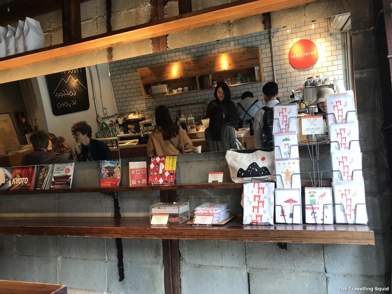 Vermilion Cafe near Fushimi Inari