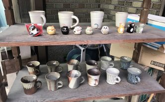 handmade pottery shop in Uji
