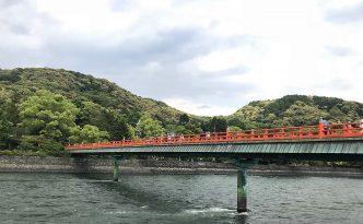 bridge uji river lake biwa