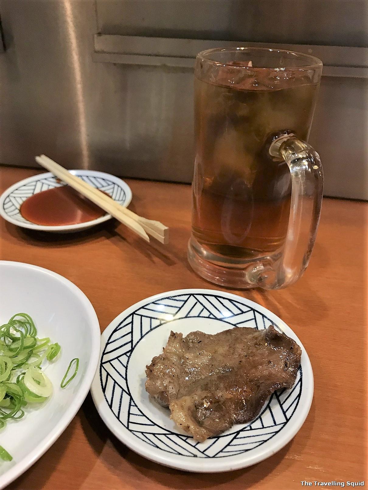 yakiniku restaurant in Osaka visitShichirin Wakabaya Namba
