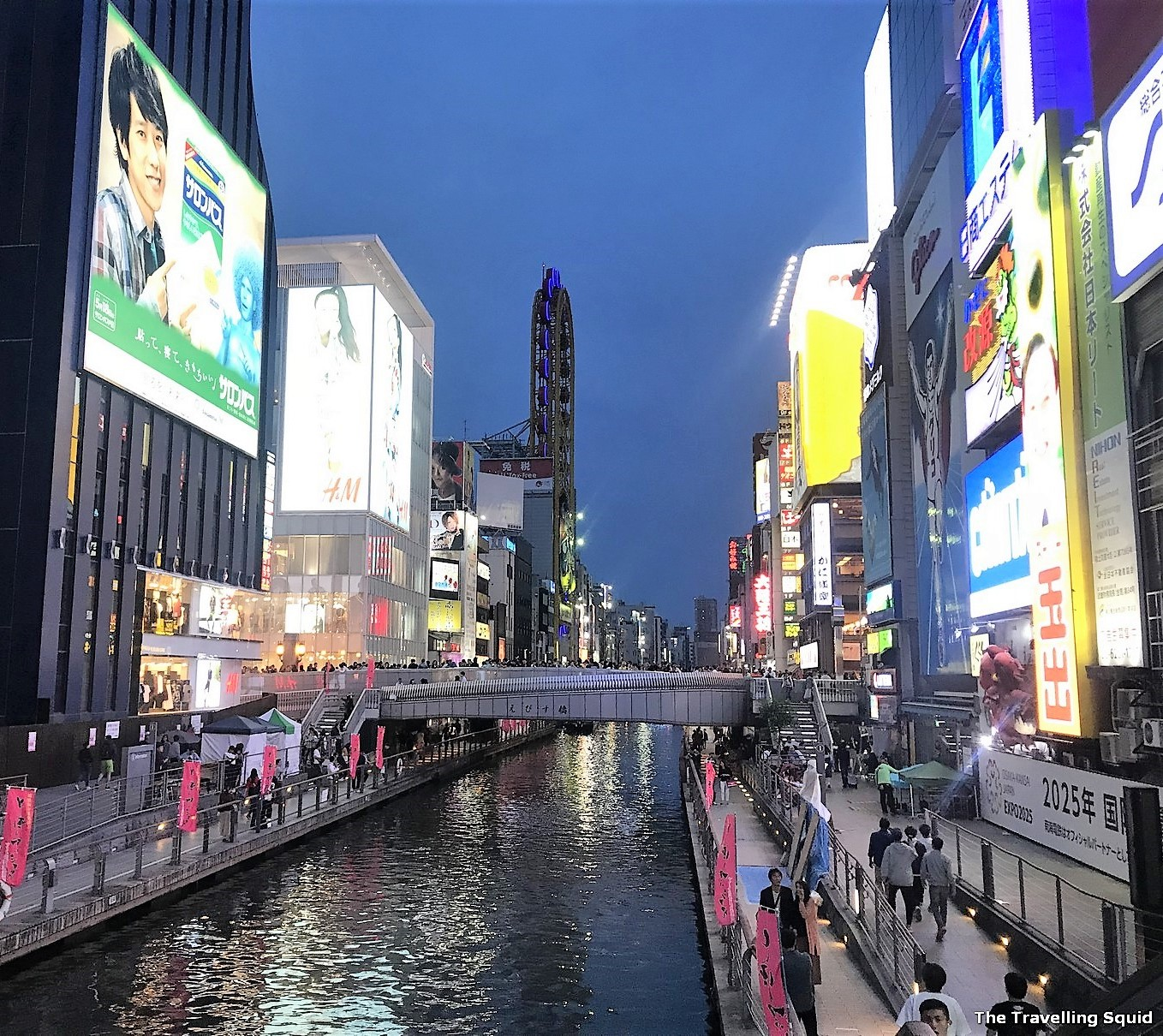 places to eat and drink at Dotonbori in Osaka