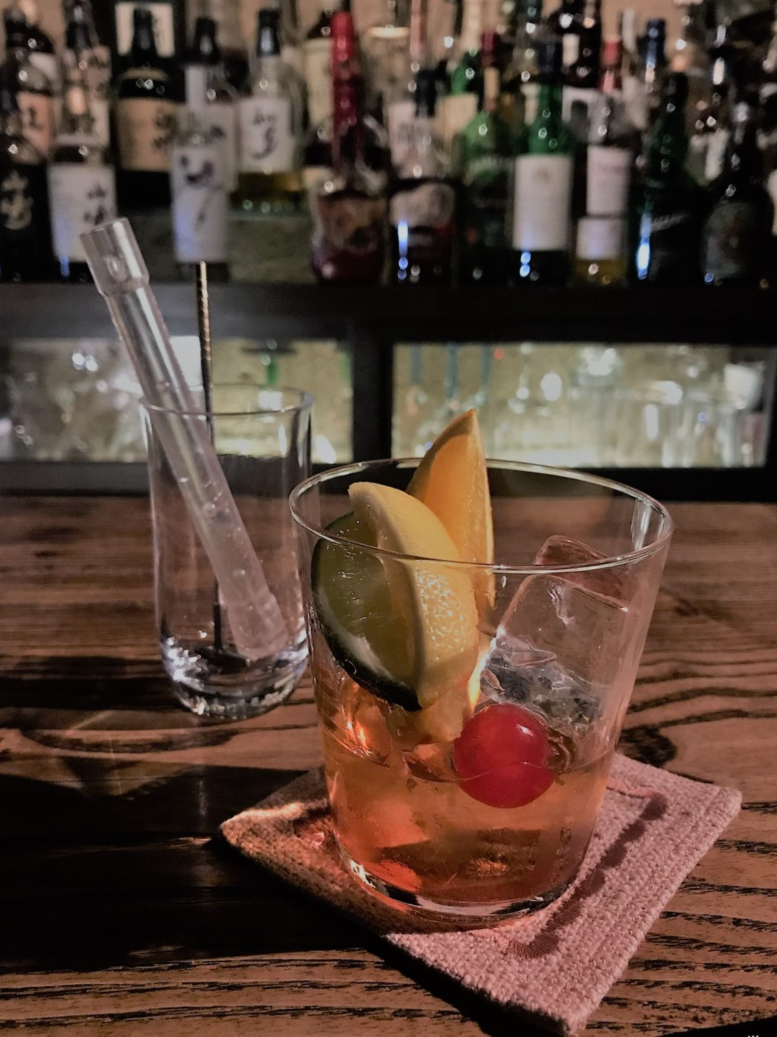 old fashioned bar masuda dotonbori