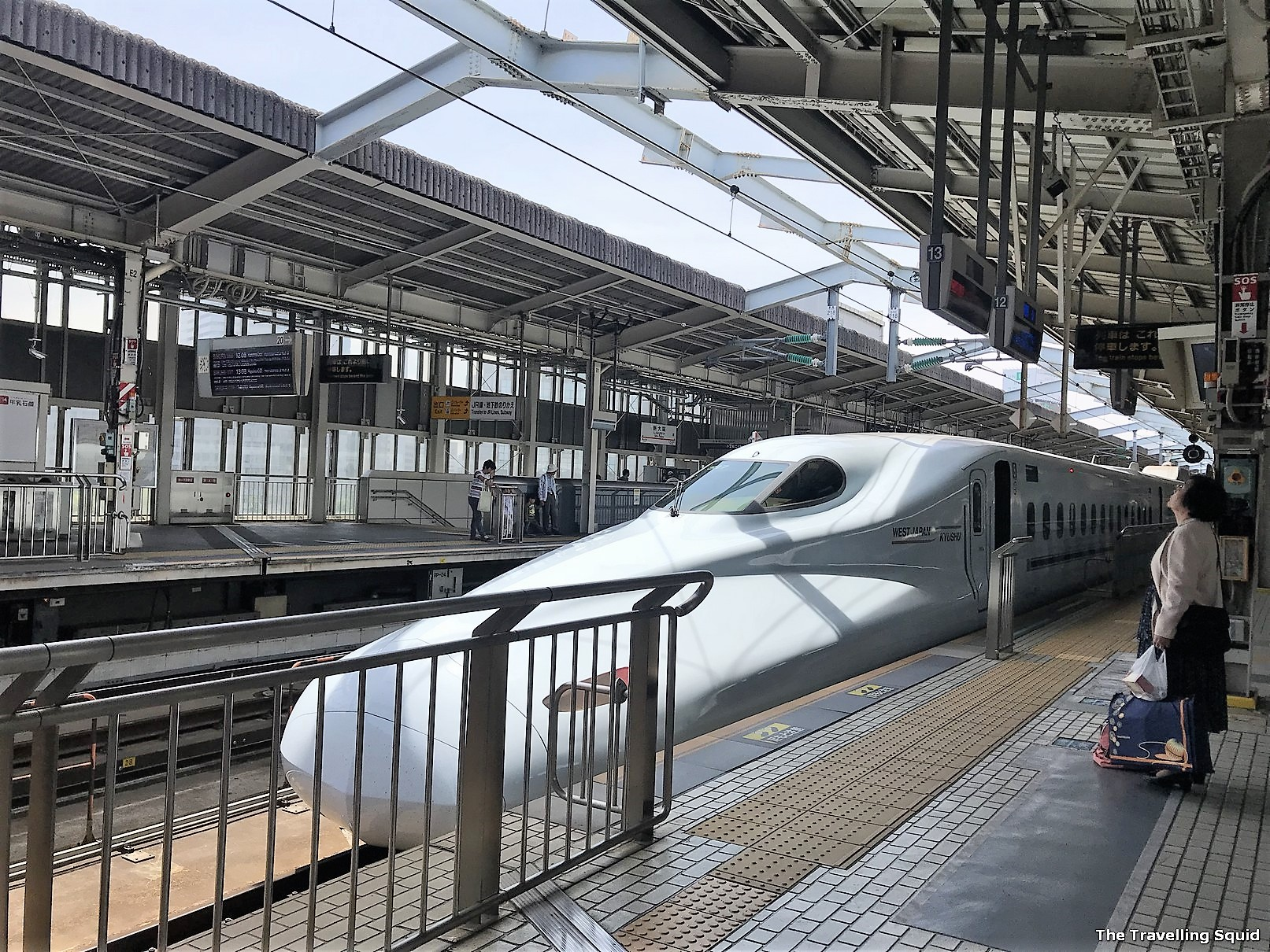 Getting from Osaka to Himeji Castle