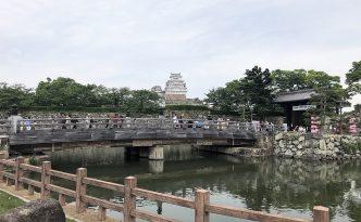himeji castle small town