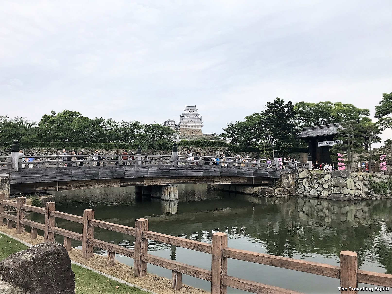 himeji castle small town