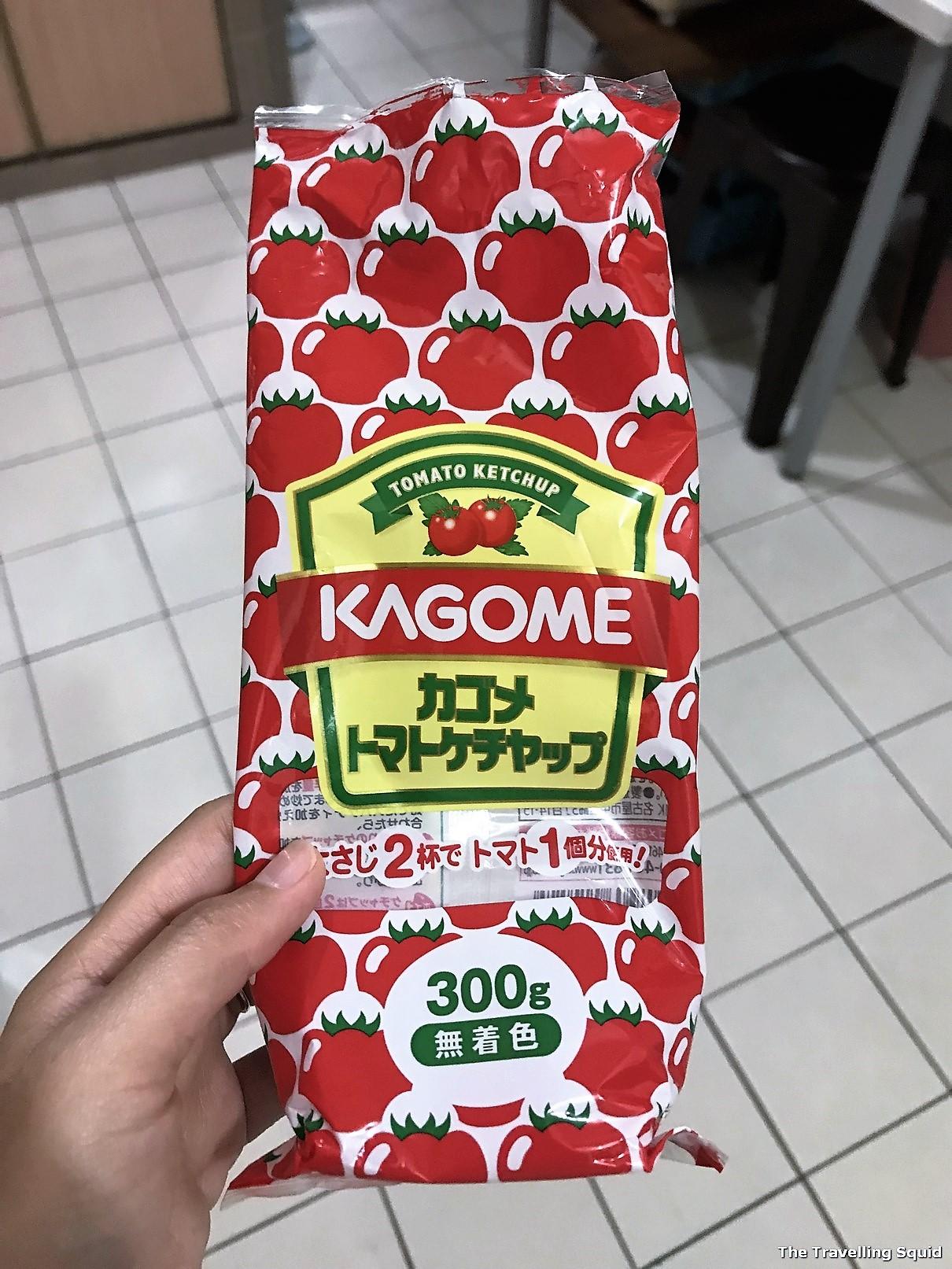 kagome ketchup