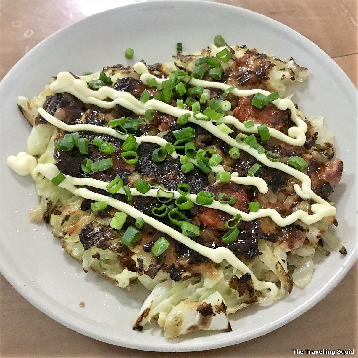 steps to make Okonomiyaki at home