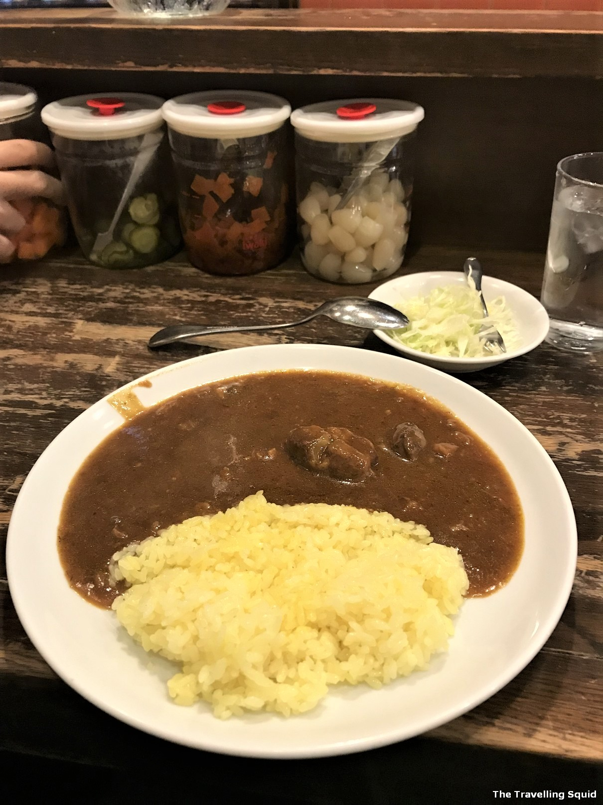 Savoy in Kobe for good Japanese curry rice