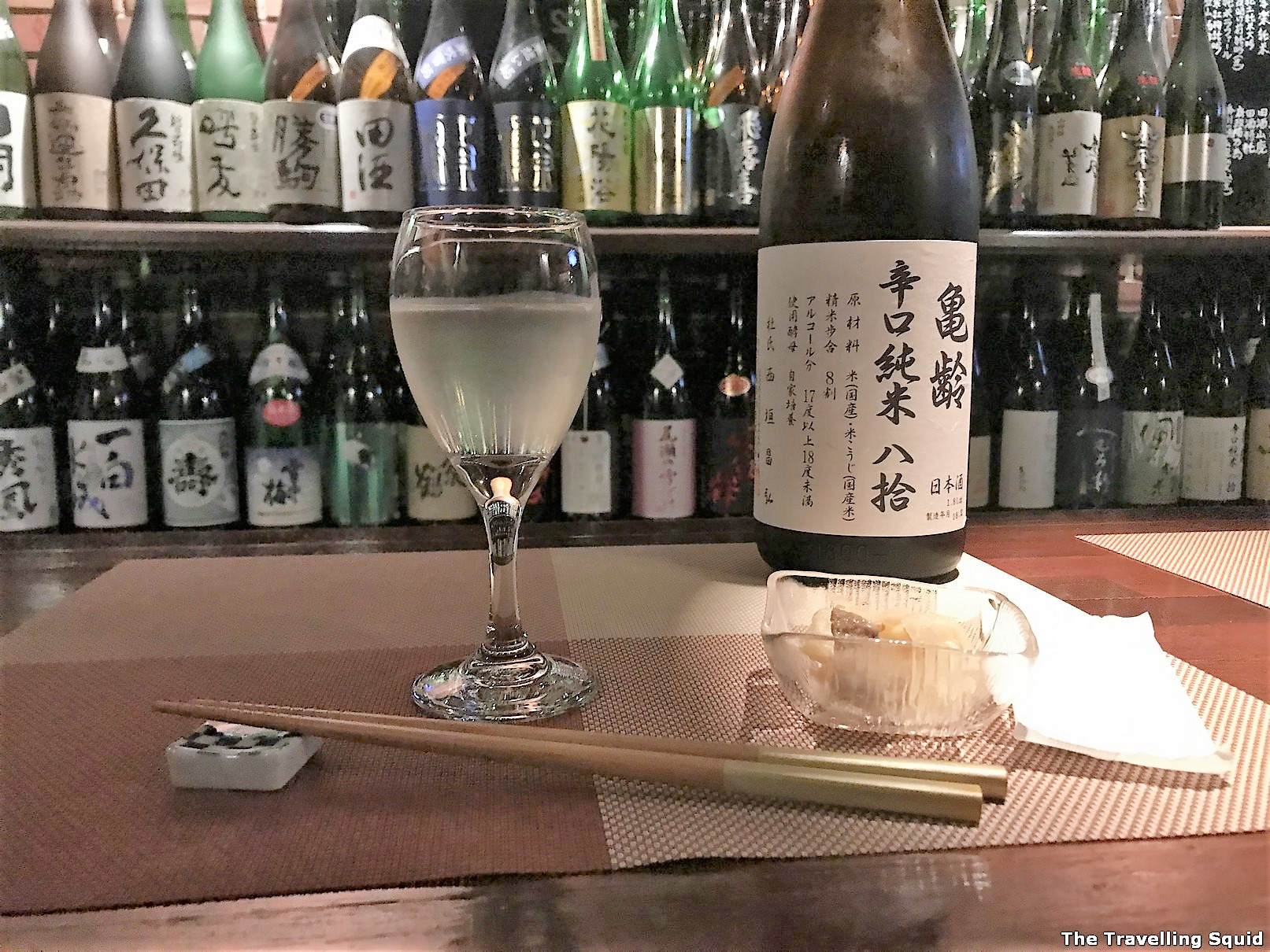 Sake Bar Sasa Seiran in Kobe