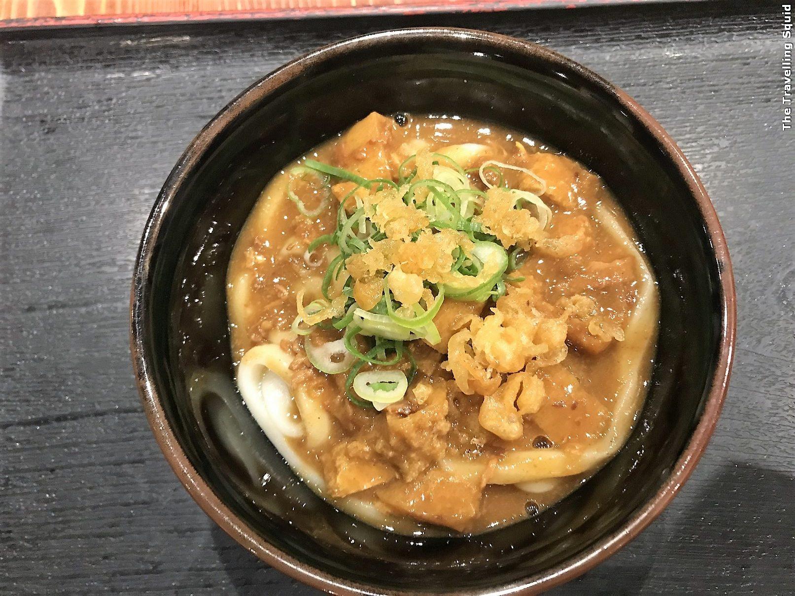 Tokyo Mentsudan for tasty udon in Shinjuku