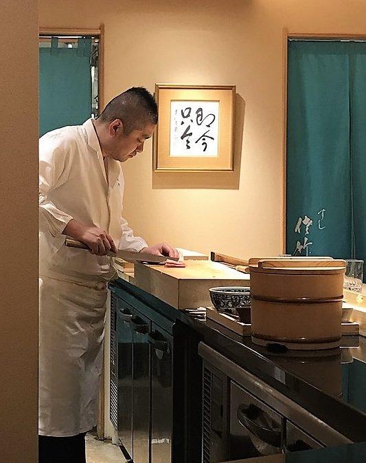 edomae sushi at Sushi Satake in Tokyo
